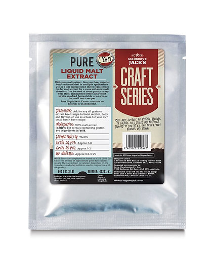 [LIGHT 600G] PURE LIQUID MALT EXTRACT