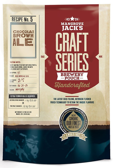 CHOCOLATE BROWN ALE