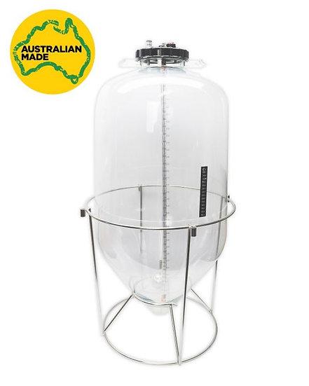 60L Fermenter King Snub Nose - Generation 3 - Pressure Rated Keg/Fermenter