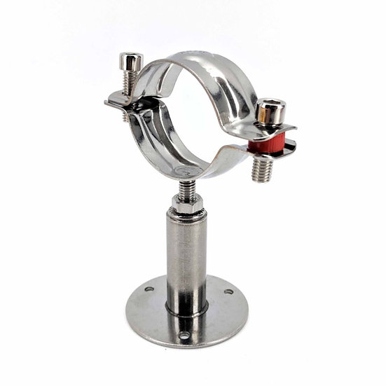 2inch DN50 - 304 Stainless Pipe Bracket Hanger Clamp
