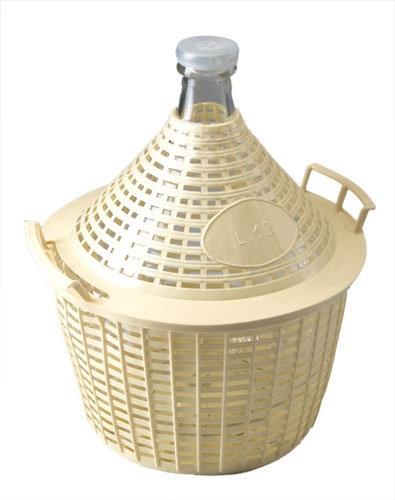 Demijohn 25L In Basket