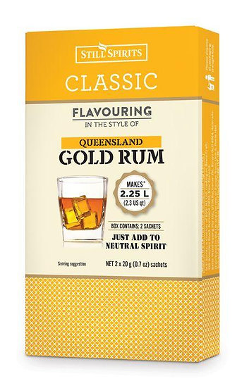 CLASSIC QUEENSLAND GOLD RUM FLAVOURING