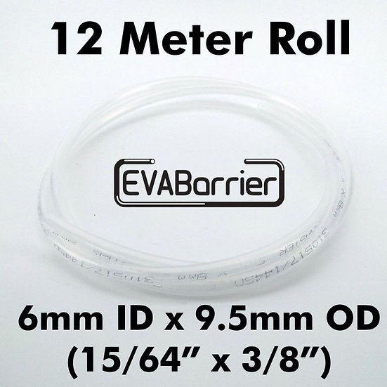 EVABarrier 6mm(15/64) x 9.5mm(3/8) Double Wall EVA (12meter Length in Bag) Beer