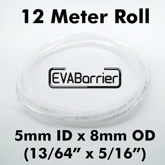EVABARRIER 5MM(13/64) X 8MM(5/16) DOUBLE WALL EVA (12METER LENGTH IN BAG)