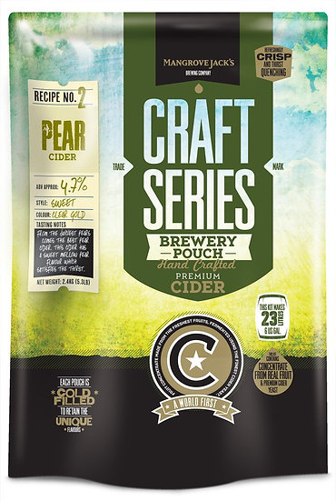 PEAR CIDER POUCH [Craft Series]