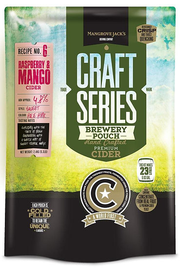RASPBERRY AND MANGO CIDER POUCH [Craft Series]