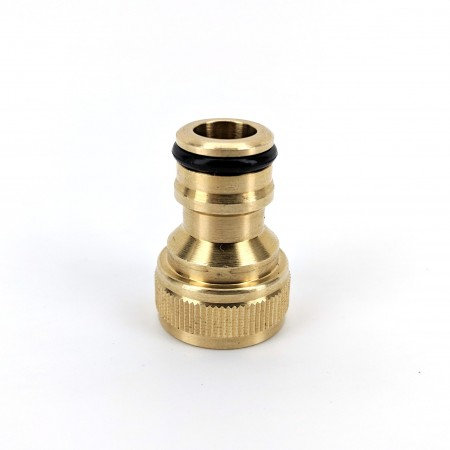 GARDEN HOSE MALE BRASS QUICK CONNECTOR COUPLING
