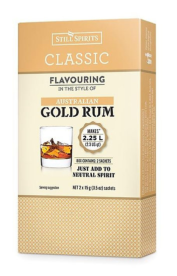 CLASSIC AUSTRALIAN GOLD RUM FLAVOURING