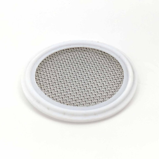 2inch Tri-Clover Stainless Mesh Screen PTFE (Teflon) Rating: 80% of100