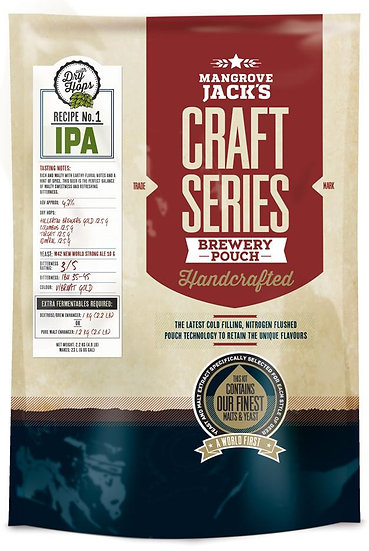 IPA WITH DRY HOPS