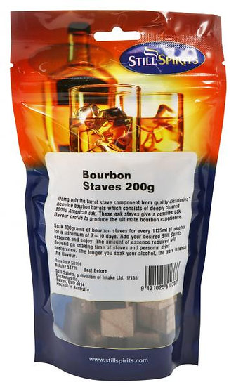 Bourbon Staves 200g [Still Spirits]