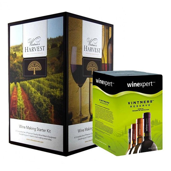 Vintners Harvest Home Winery with your choice of Wine Making Kit