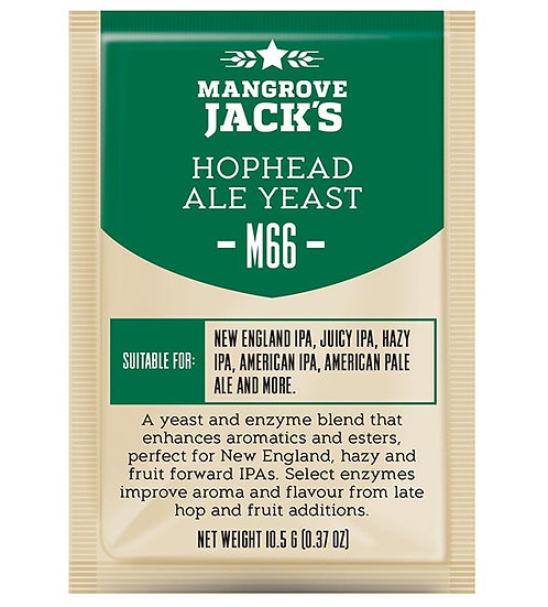 M66 HOP HEAD ALE YEAST