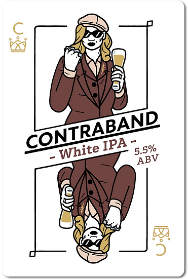 Contraband: White IPA [All Inn Brewing Fresh Wort]