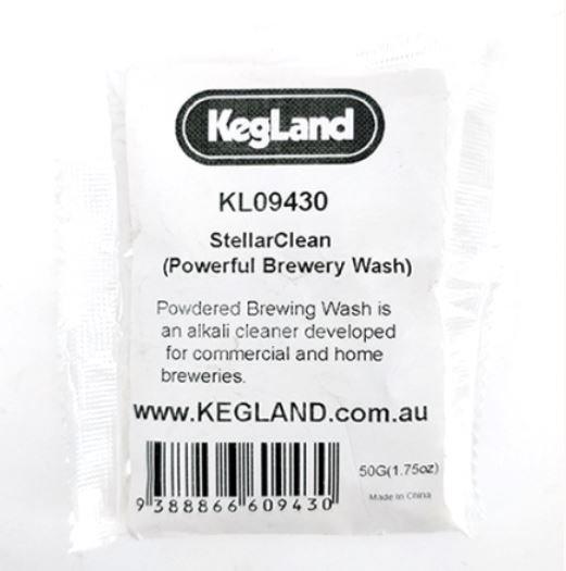 50G - STELLARCLEAN PBW (POWERFUL BREWING WASH) - BREWERY CLEANER, BEER LINE CLEA