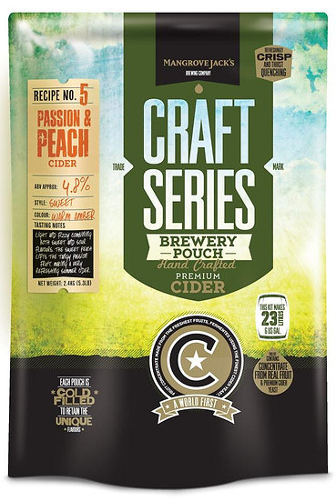 PEACH AND PASSION CIDER POUCH [Craft Series]