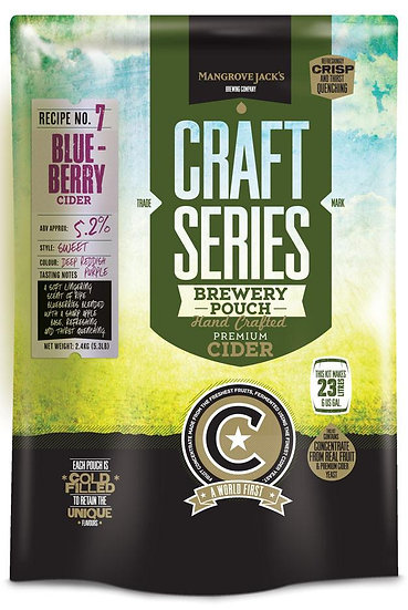BLUEBERRY CIDER POUCH [Craft Series]