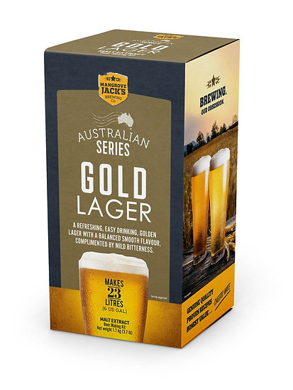 GOLD LAGER [AUSTRALIAN BREWER'S SERIES]