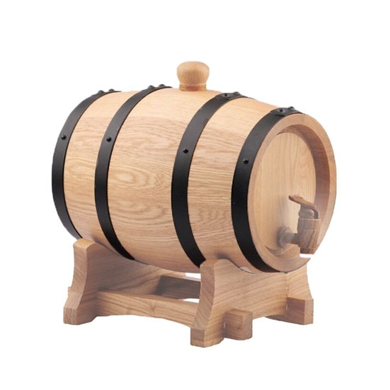 5L AMERICAN WHITE OAK BARREL + FREE BARREL WAX