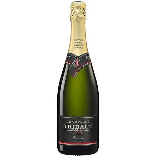 Wijnen: 1 fles Champagne Tribaut brut