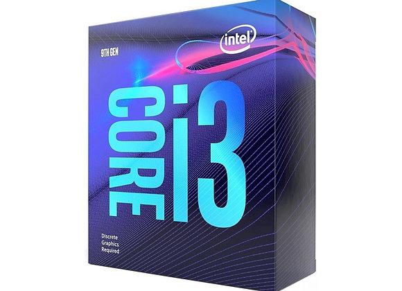 NTEL i3 9100F 3.6GHz VGA'sız, Fanlı 6MB 65W Box 1151p