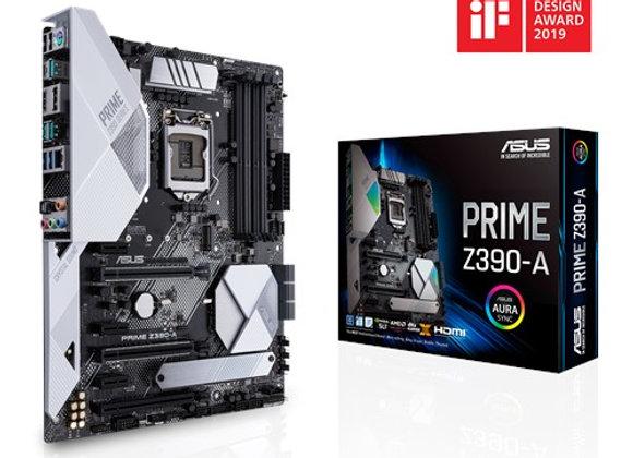 ASUS PRIME Z390-A LGA1151 MAX 64GB DDR4 SATA 6.0 HDMI DVI ATX ANAKART