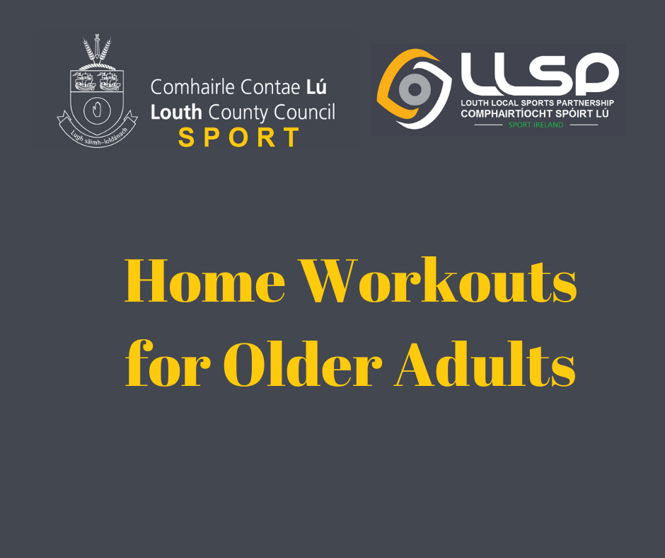 Home Workouts for older adults