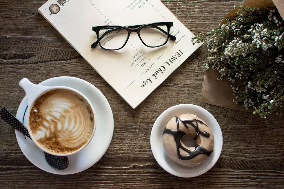 Birch Coffee Travel Flat Lay