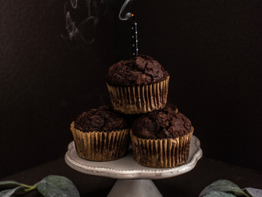 Chocolate Breakfast Muffins