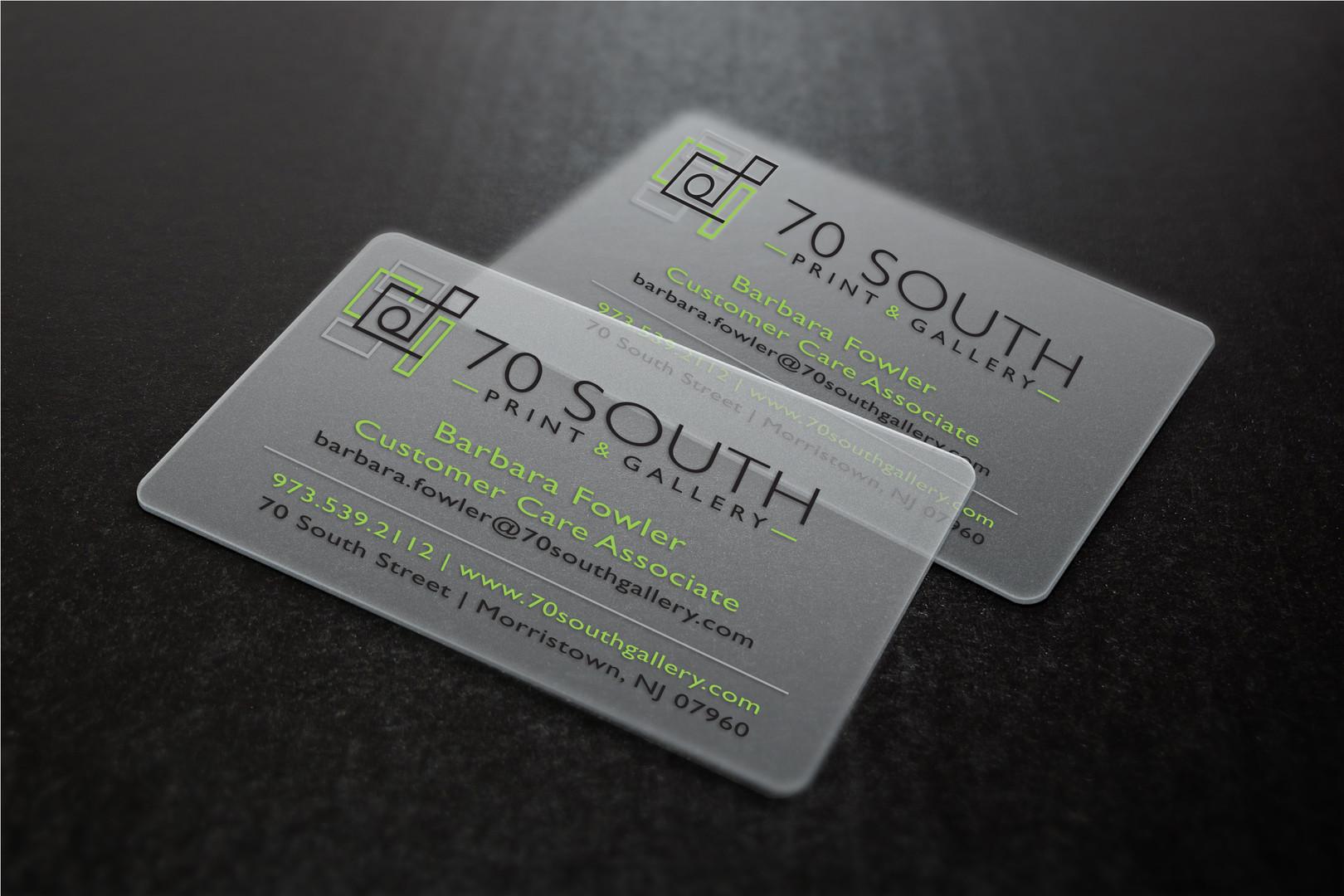 Business Card Design & Mockup