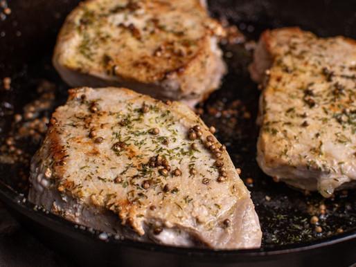 Coriander & Dill Pork Chops