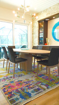 Colorful and Contemporary Dining Room