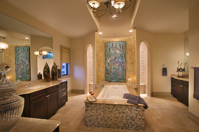 Spa Inspired Master Bathroom