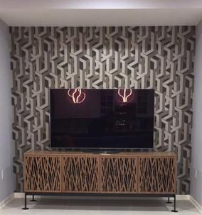 High Tech TV Wall