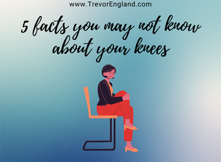 5 Facts you may not know about your Knees!