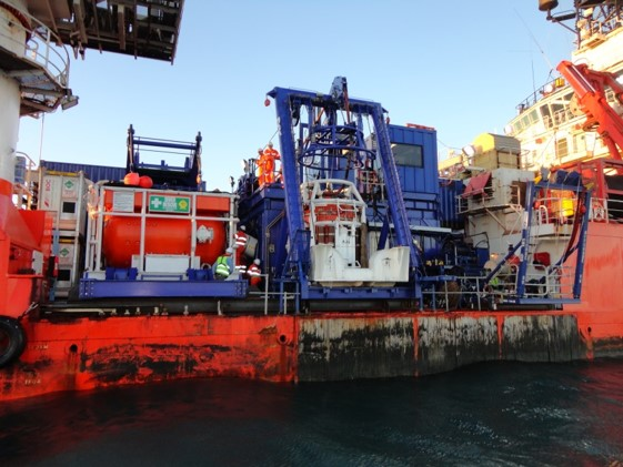 Dive Support Vessel Nor Australis