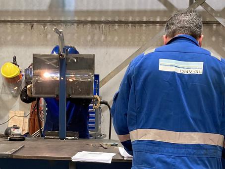 Additional DNV-GL weld procedures