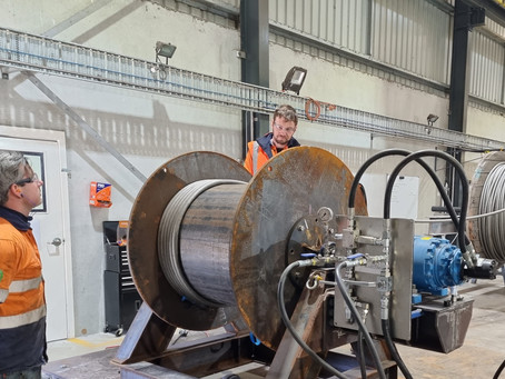 Winch Rope / Wire spooling