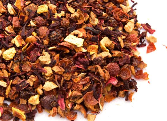 Blood Orange Hibiscus Tea