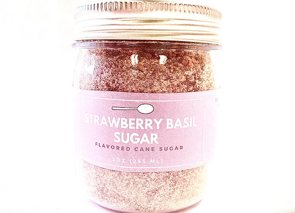 STRAWBERRY BASIL SUGAR