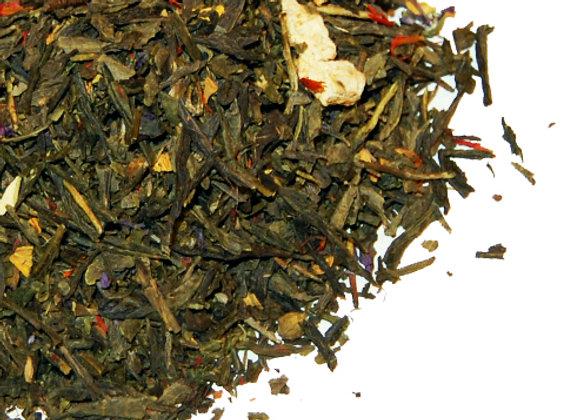 CINNAMON ORANGE GREEN TEA