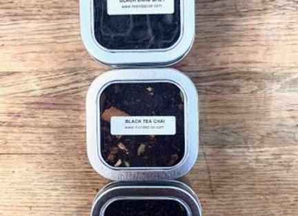 Black Tea Trio (4ounce each tin)