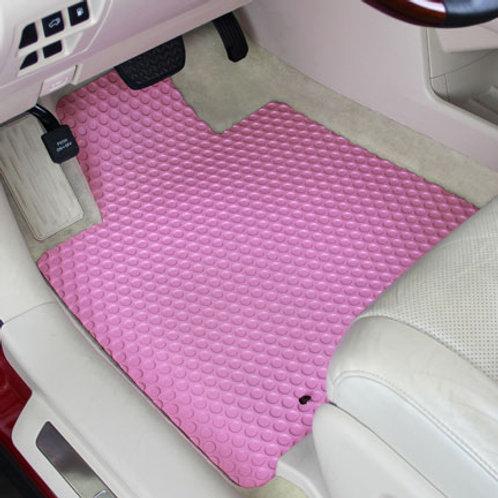 Rubbertite Floor Mats - 3 Piece Set for Truck Van or SUV - Pick 13 Colors!