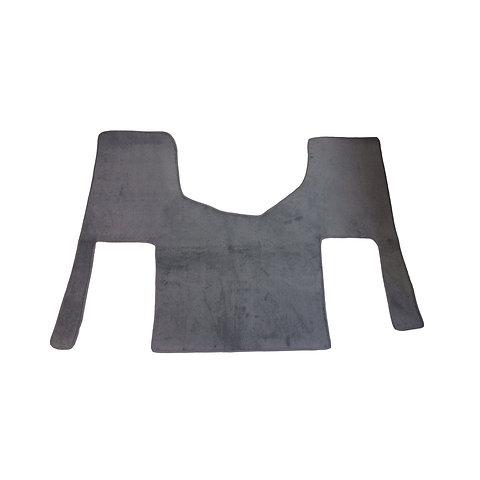 1 Piece Carpet Cab Floor Mat For Class 8 Commercial Truck Optional Cummins Logo