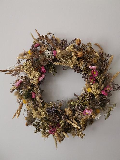 Dried Meadow Wreath