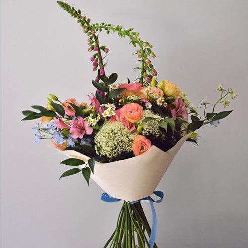 English Seasonal Handtied Bouquet