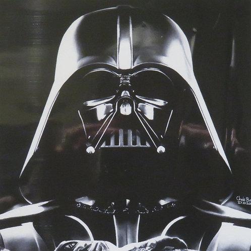 A5 Giclee print of Darth Vader