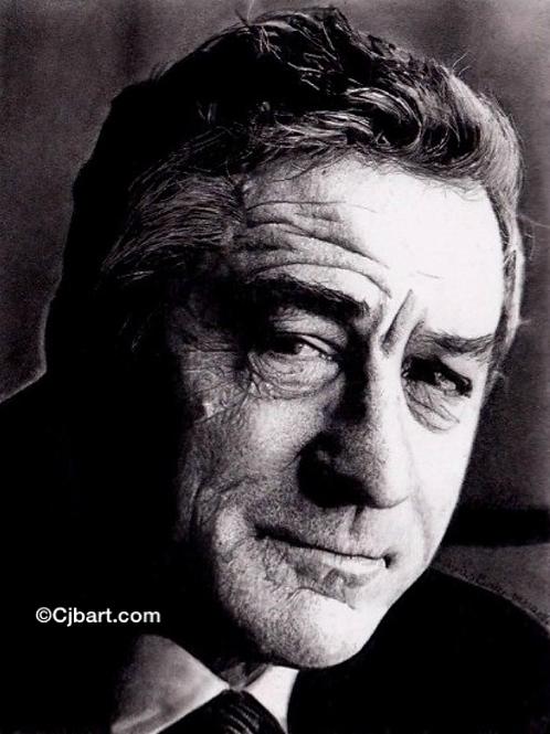 A4 Giclee print of Robert De Niro