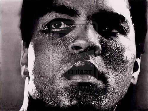 A5 Giclee print of Muhammad Ali