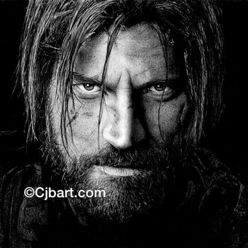 A4 Giclee print of Jaime Lannister